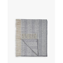 Buy Tolly McRae Pure Alpaca Wool Stripe Throw Online at johnlewis.com