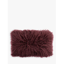 Buy John Lewis Mongolian Wool Cushion Online at johnlewis.com