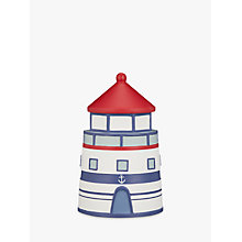 Buy John Lewis Coastal Lighthouse Storage Box, Multi Online at johnlewis.com