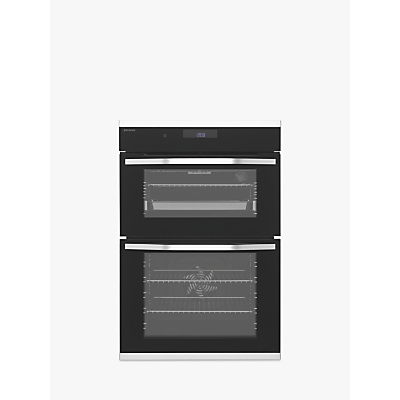 John Lewis & Partners JLBIDO931X Built-In Double Electric Oven, Stainless Steel