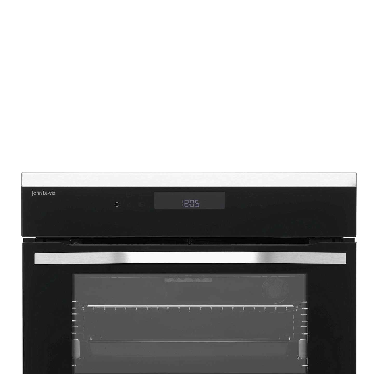 John Lewis JLBIDO931X Built-In Double Electric Oven, Stainless Steel ...