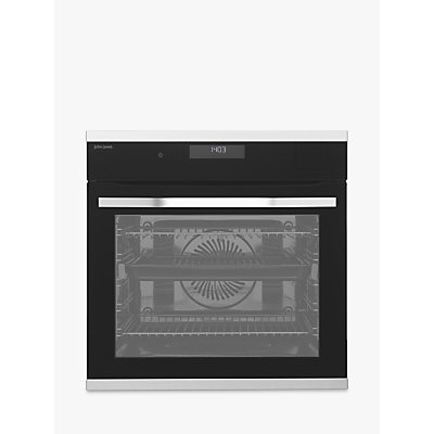 John Lewis & Partners JLBIOS635 Built-In Single Multifunction Oven with Sous Vide, Stainless Steel