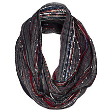 Buy Fat Face Festival Snood, Navy Online at johnlewis.com