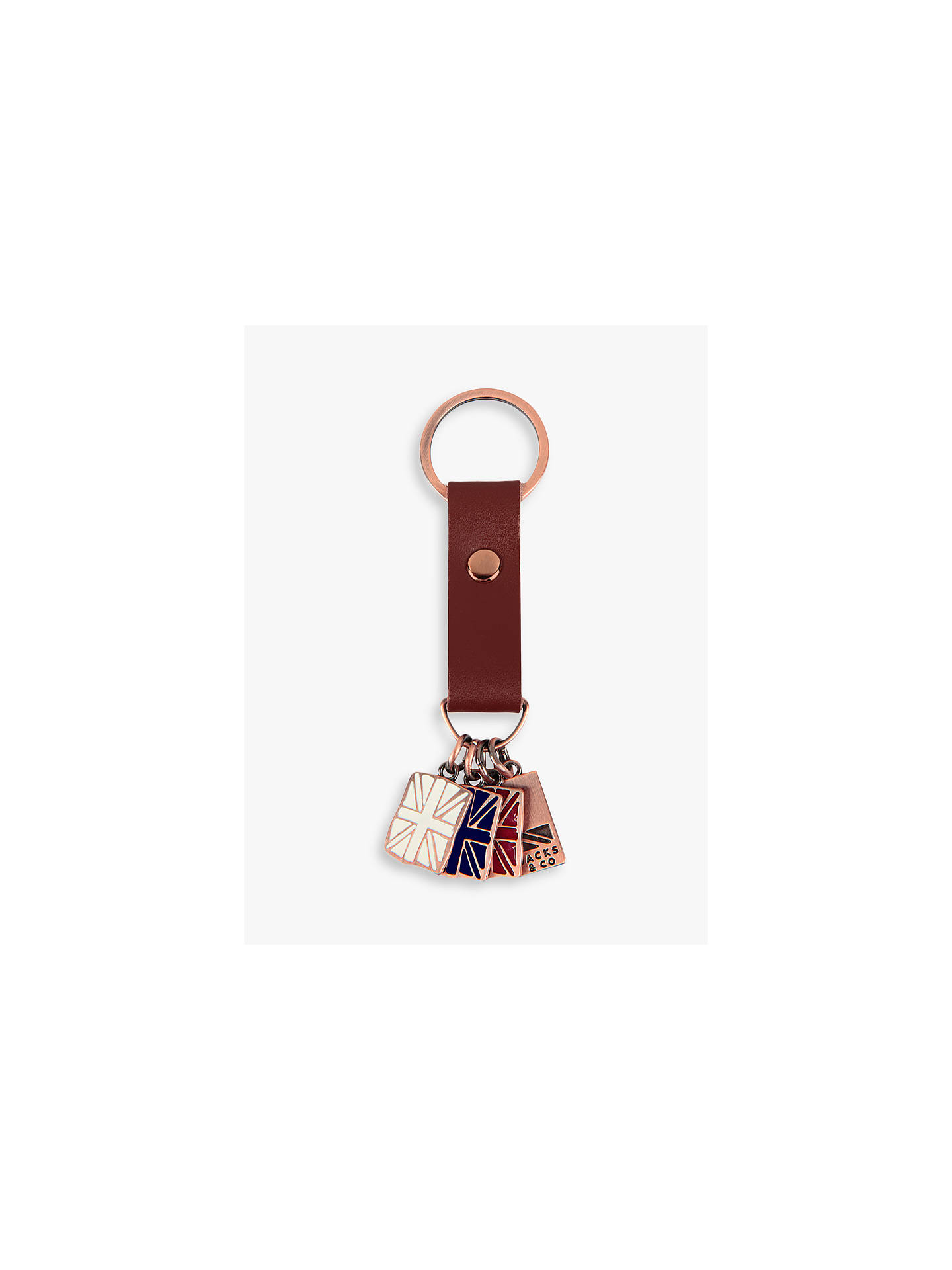 BuyJacks & Co Great Britain Keyring, Multi Online at johnlewis.com