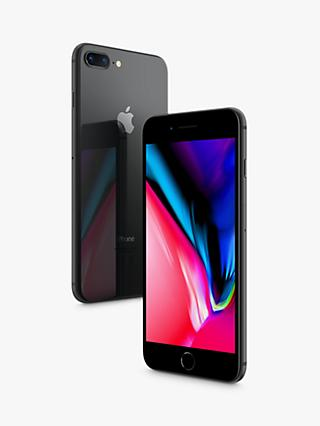 "Apple iPhone 8 Plus, iOS 11, 5.5"", 4G LTE, SIM Free, 256GB"