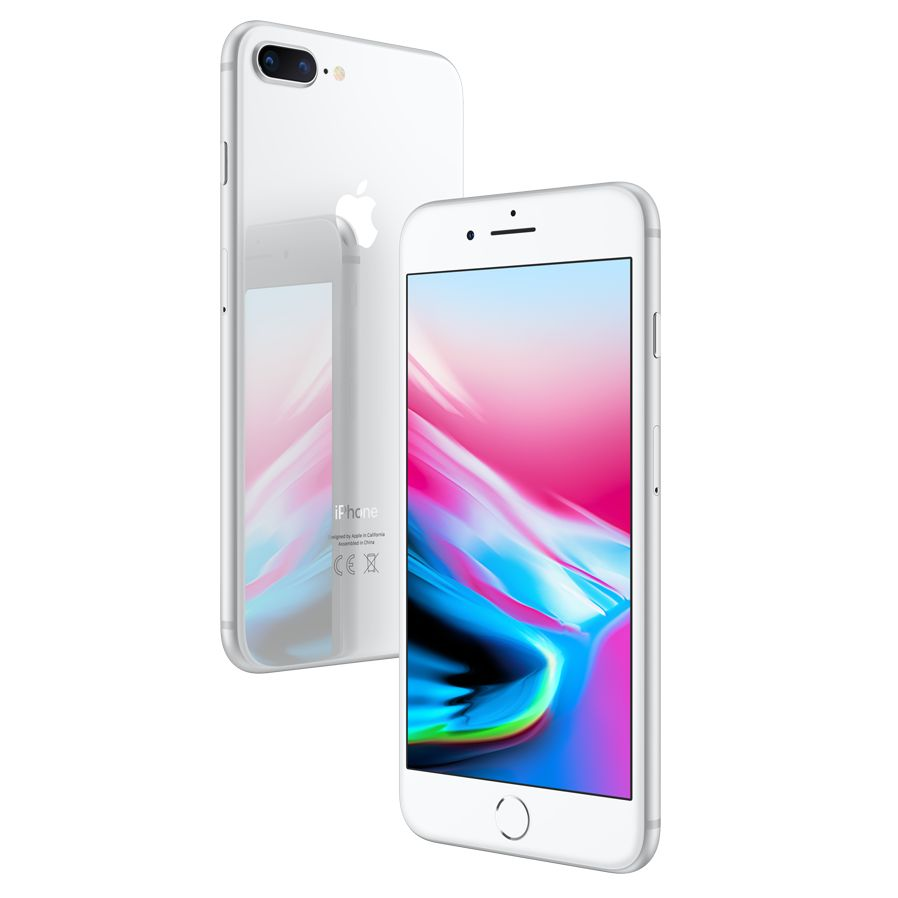 Apple Apple iPhone 8 Plus, iOS 11, 5.5, 4G LTE, SIM Free, 64GB