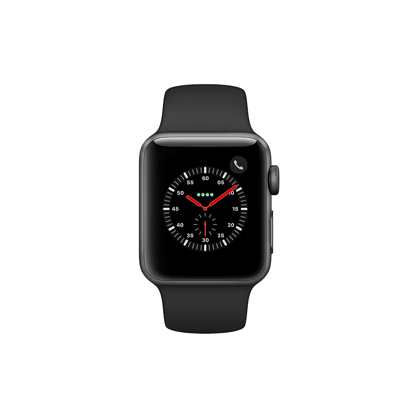 Buy apple watch series 3 gps and cellular 38mm space grey buy apple watch series 3 gps and cellular 38mm space grey aluminium case with fandeluxe Images