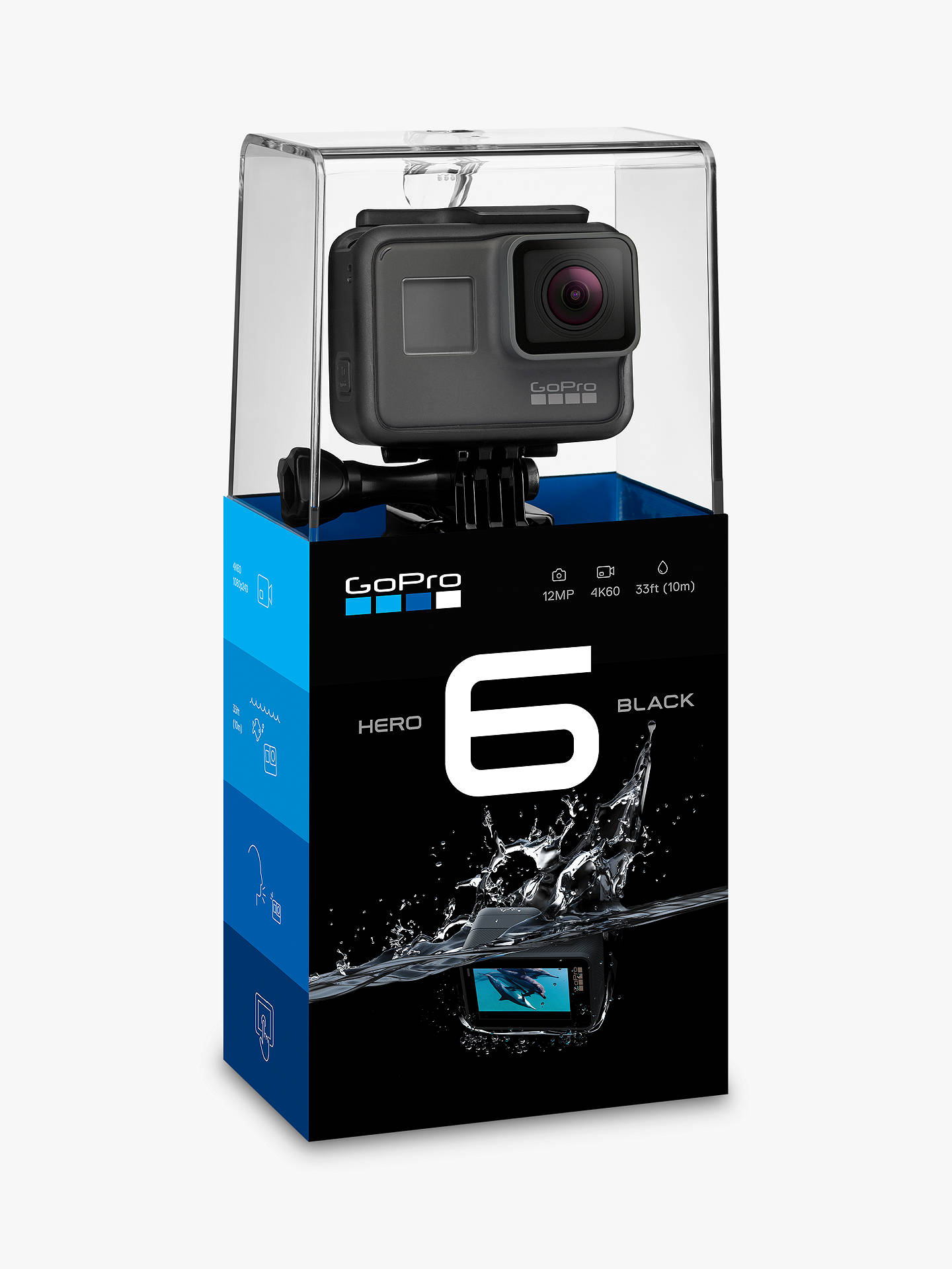 Buygopro Hero6 Black Edition Camcorder 4k Ultra Hd Mp Wi