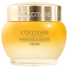 Buy L'Occitane Immortelle Divine Creme, 50ml Online at johnlewis.com