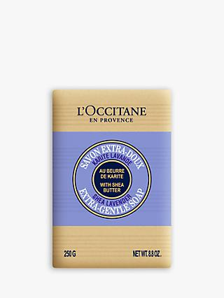 L'Occitane Lavender Shea Butter Extra Gentle Soap, 250g
