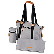 Buy Bababing Harvey Changing Bag, Stone Online at johnlewis.com