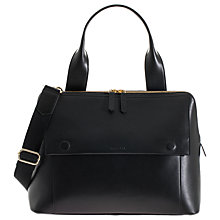 Buy Jem + Bea Odille Satchel Changing Bag, Black Online at johnlewis.com