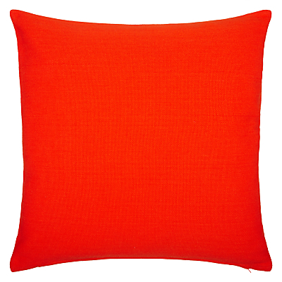 John Lewis & Partners Plain Cotton Cushion