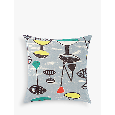 Lucienne Day Flotilla Cushion, Grey