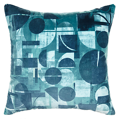 Harlequin Segments Cushion