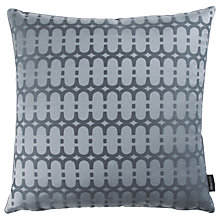 Buy Kirkby Design by Romo Eley Kishimoto Collection Loopy Link Cushion, Dark Grey Online at johnlewis.com