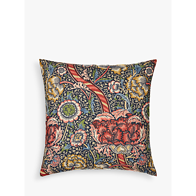 Morris & Co Wandle Cushion, Red
