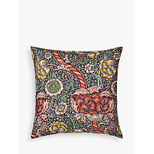 Buy Morris & Co Wandle Cushion, Red Online at johnlewis.com