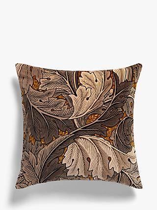 Morris & Co. Acanthus Velvet Cushion