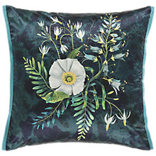 Buy Designers Guild Fritillaria Cushion, Malachite Online at johnlewis.com