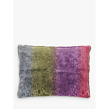 Buy Designers Guild Santofioria Cushion, Berry Online at johnlewis.com
