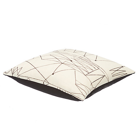 Buy Lucienne Day Graphica Cushion, Black / White Online at johnlewis.com