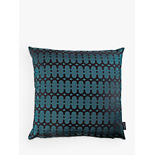 Buy Kirkby Design by Romo Eley Kishimoto Collection Loopy Link Cushion, Teal Online at johnlewis.com