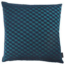 Buy Kirkby Design by Romo Eley Kishimoto Collection Zig Zag Birds Cushion, Teal Online at johnlewis.com