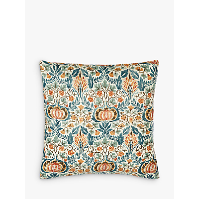 Morris & Co Little Chintz Cushion, Multi