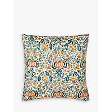 Buy Morris & Co Little Chintz Cushion, Multi Online at johnlewis.com