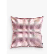 Buy Kirkby Design by Romo Eley Kishimoto Collection Domino Pyramid Cushion, Blush Online at johnlewis.com