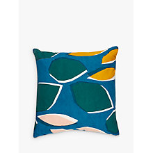 Buy John Lewis Axel Cushion, Spruce Online at johnlewis.com