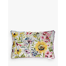 Buy Voyage Sunflower Cushion, Multi Online at johnlewis.com