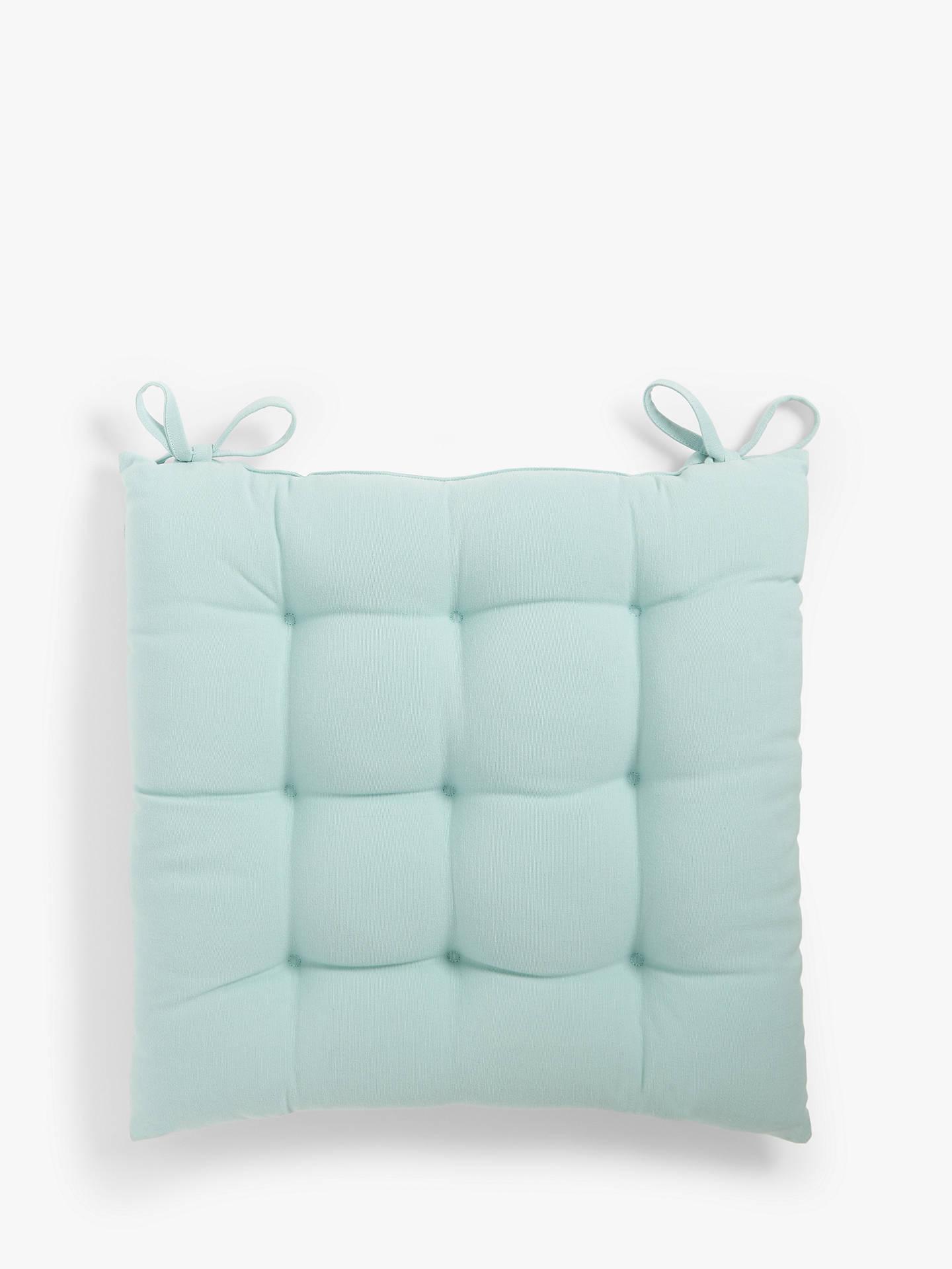 john lewis partners plain seat pad at john lewis partners. Black Bedroom Furniture Sets. Home Design Ideas
