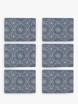 Buy John Lewis & Partners Persia Placemats, Blue, Set of 6 Online at johnlewis.com