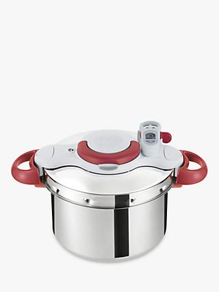 Tefal Clipso Minut' Perfect Pressure Cooker, 6L