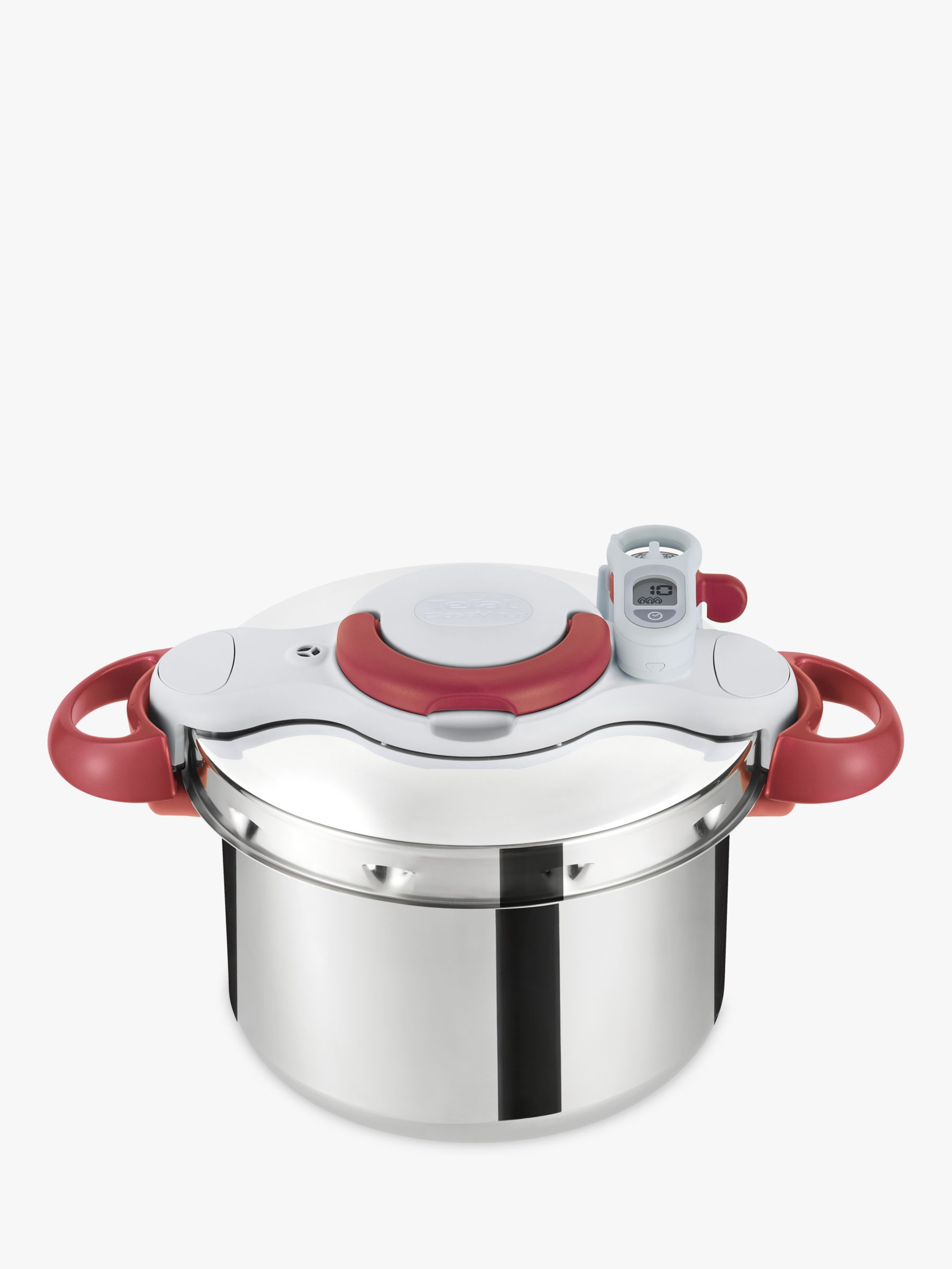 Tefal Tefal Clipso Minut' Perfect Pressure Cooker, 6L