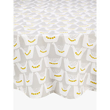 Buy John Lewis Scandi Birds Wipe Clean Round Tablecloth, Dia.180cm Online at johnlewis.com