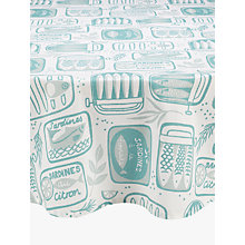 Buy John Lewis Sardines Wipe Clean Round Tablecloth, Dia.180cm Online at johnlewis.com