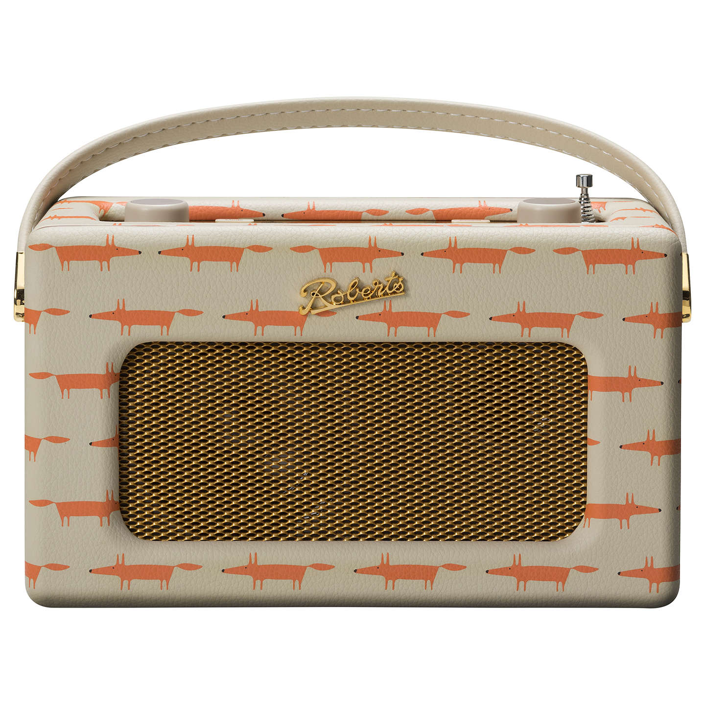 BuyROBERTS Revival RD70 DAB/DAB+/FM Bluetooth Digital Radio with Alarm, Limited Edition Scion Design, Mr Fox Online at johnlewis.com