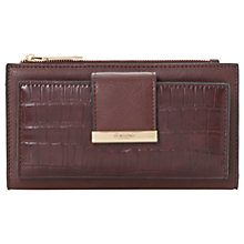 Buy Dune Kira Slim Foldover Purse, Berry Online at johnlewis.com