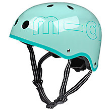Buy Micro Scooter Safety Helmet, Mint, Medium Online at johnlewis.com