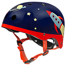 Buy Micro Scooter Safety Helmet, Retro Rocket, Medium Online at johnlewis.com