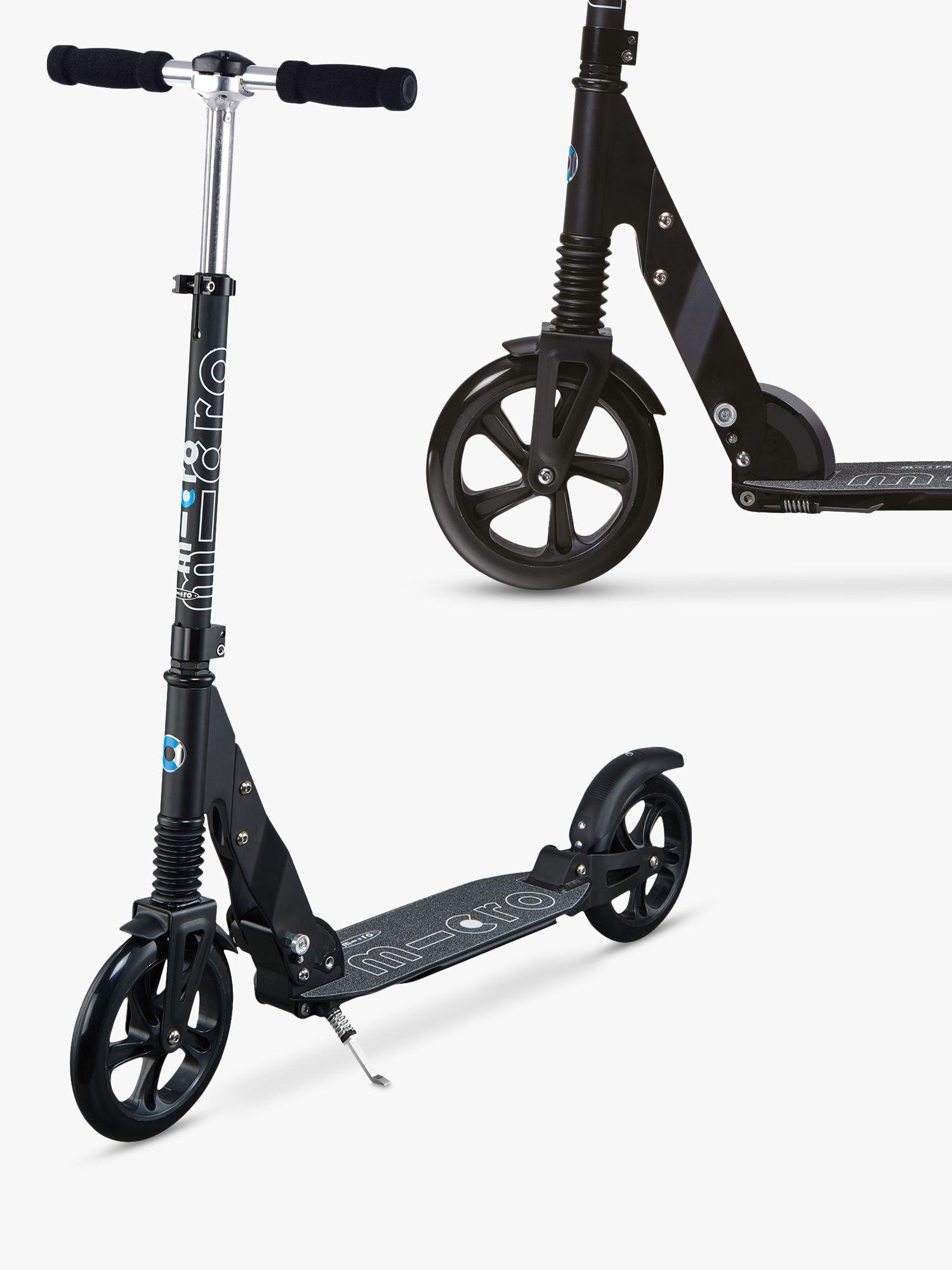 Micro Micro Suspension Scooter, Adult, Black