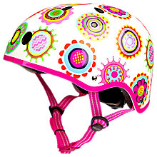 Buy Micro Scooter Safety Helmet, Doodle Spot, Medium Online at johnlewis.com