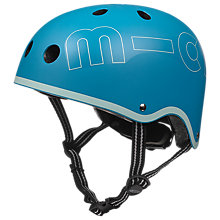 Buy Micro Scooter Safety Helmet, Aqua, Small Online at johnlewis.com
