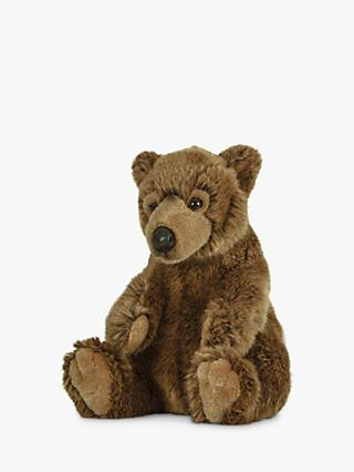 Living Nature Brown Bear Plush Soft Toy