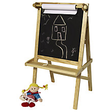 Buy Great Little Trading Co Art Easel, Natural Online at johnlewis.com