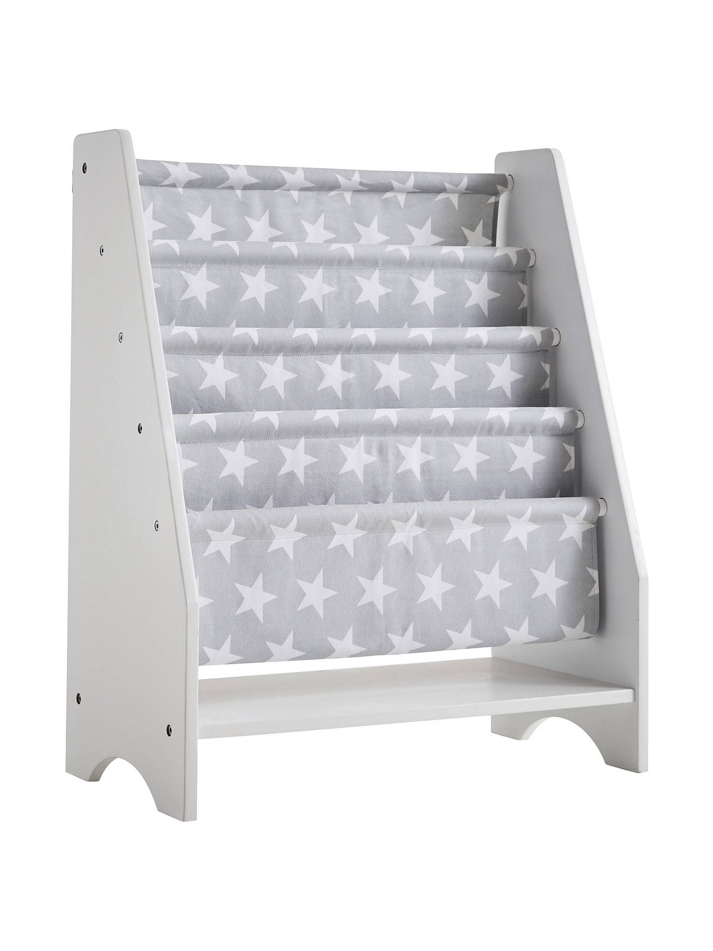 lowest price d4737 cab2f Great Little Trading Co Sling Bookcase, Grey Star