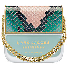 Buy Marc Jacobs Decadence Eau So Decadent Eau de Toilette, 100ml Online at johnlewis.com